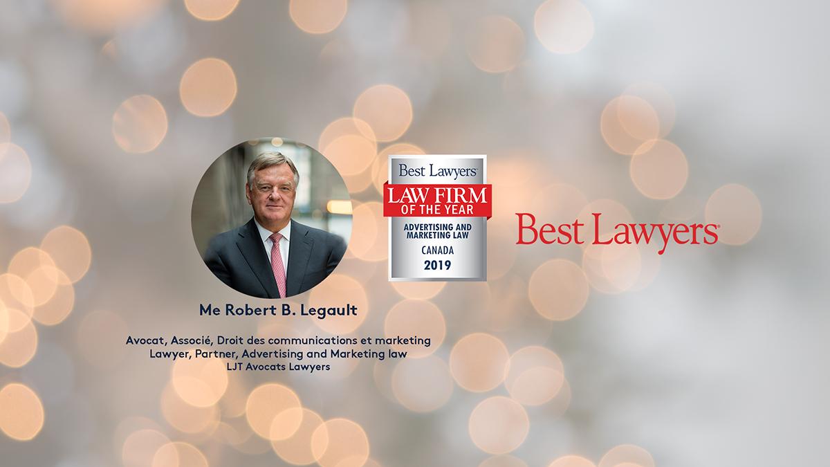 Robert B  Legault dans Best Lawyers Canada sur l'attribution